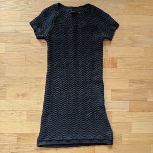 DEX / Grey Sweater Dress